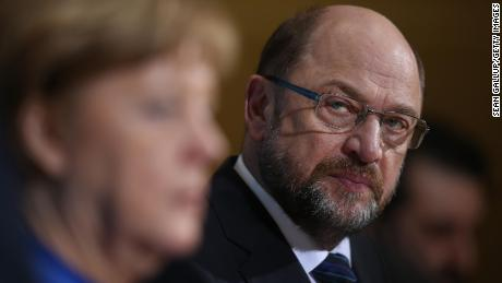 German Chancellor  Angela Merkel and leader of the German Social Democrats (SPD) Martin Schulz are set for another Grand Coalition.