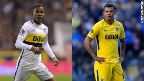 38bb58151 Dos jugadores colombianos de Boca Juniors acusados de violencia de género