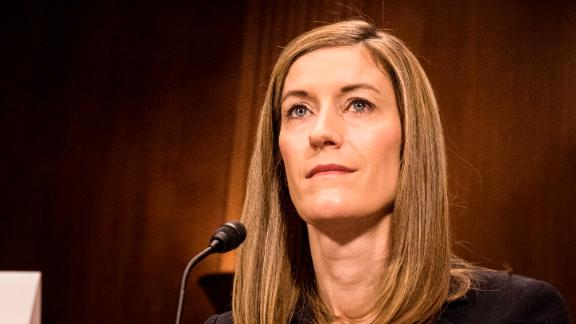 WASHINGTON, DC - During a confirmation hearing Rod Rosenstein nominated for Deputy Attorney General and Rachel Brand nominated for Associate Attorney General appear before the Senate Judiciary Committee on Capitol Hill in Washington, DC Tuesday March 7, 2017. (Photo by Melina Mara/The Washington Post via Getty Images)