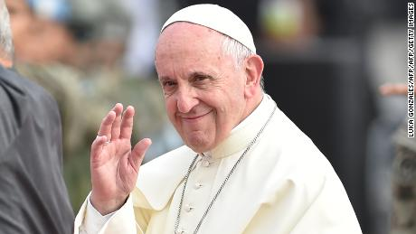 Pope Francis says sorry to sex abuse victims for his comments about bishop