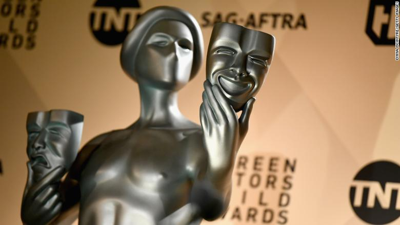 SAG Awards will be a pretaped one hour special this year