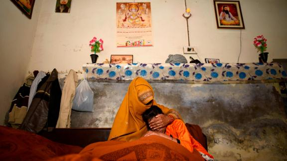 The mother and younger sister of a 15-year old whose brutal rape and murder in Haryana has shocked India.