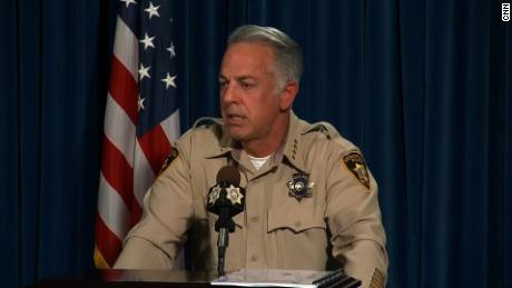 NS Slug: VEGAS SHOOTING:SHERIFF-NO RADICAL IDEOLOGY FOUND  Synopsis: Sheriff: Las Vegas shooter didn't leave behind suicide note or manifesto  Keywords: NEVADA LAS VEGAS SHOOTING JUSTICE LEGAL