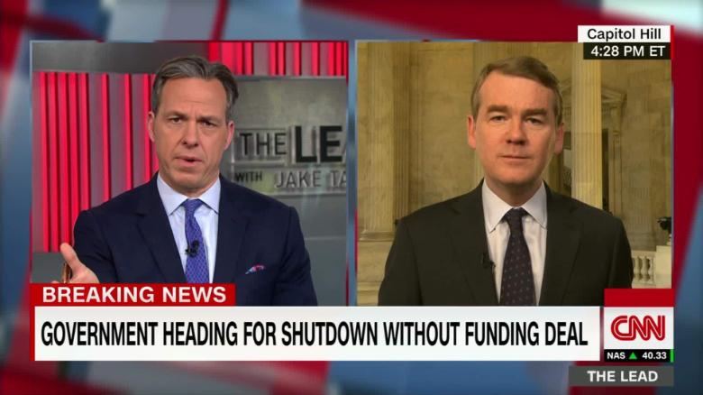 lead sen michael bennet live jake tapper_00013103