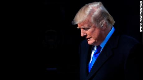 President Donald Trump walks to the podium to address participants of the annual March for Life event, in the Rose Garden of the White House in Washington, Friday, Jan. 19, 2018. (AP Photo/Manuel Balce Ceneta)