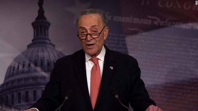 Schumer: Negotiating with Trump 'like jello'