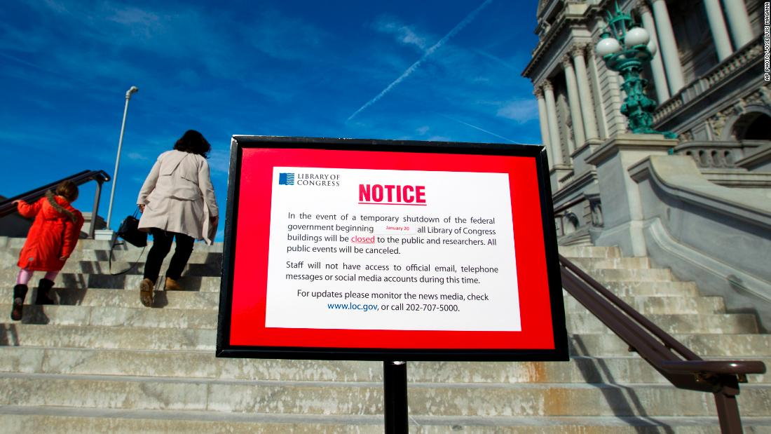 Government shutdown: Some parks and monuments may be closed