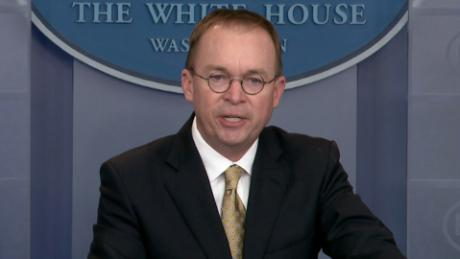 Mulvaney: Schumer didn't offer full wall funds