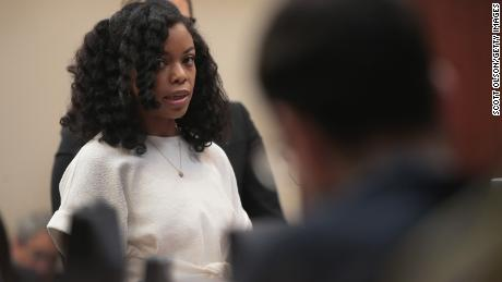 Tiffany Thomas-Lopez   confronted Nassar, recounting his abuse in court last week.
