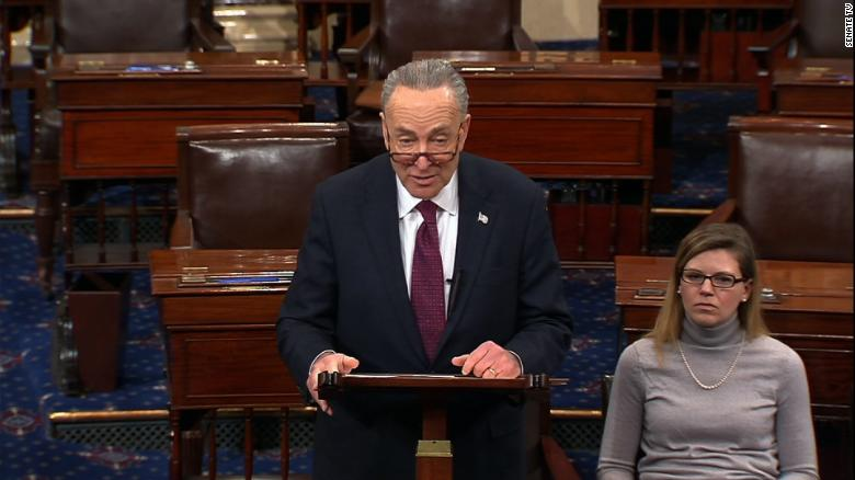 Sen. Schumer: I offered Trump his wall