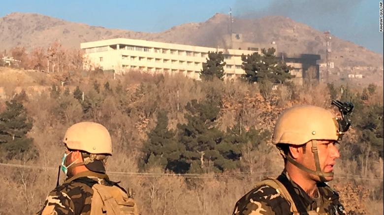 Reports: 5 killed after attackers storm hotel