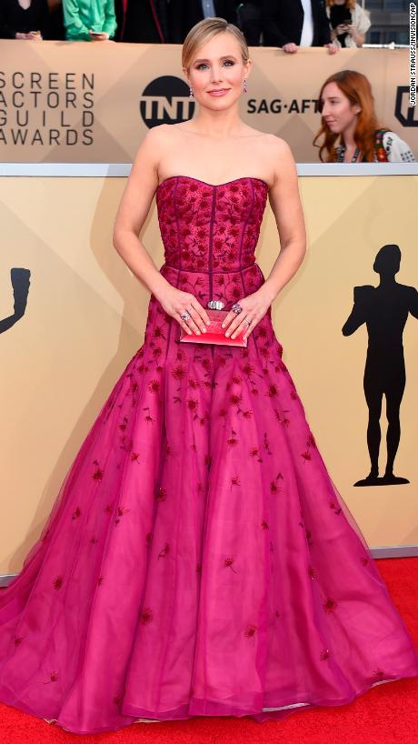 Kristen Bell Arrives At The Th Annual Screen Actors Guild Awards At The Shrine Auditorium Amp