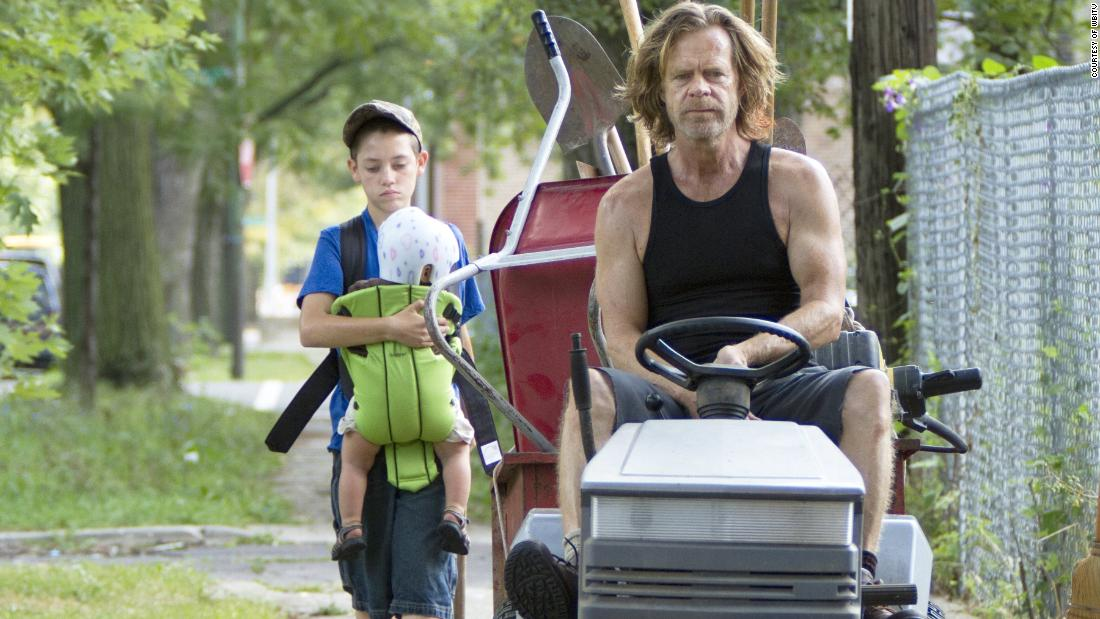 "Outstanding Performance by a Male Actor in a Comedy Series:  William H. Macy in ""Shameless"""