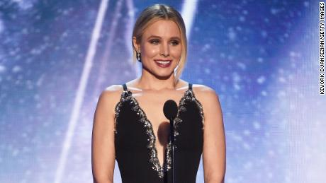 Kristen Bell jabs at first lady Melania Trump