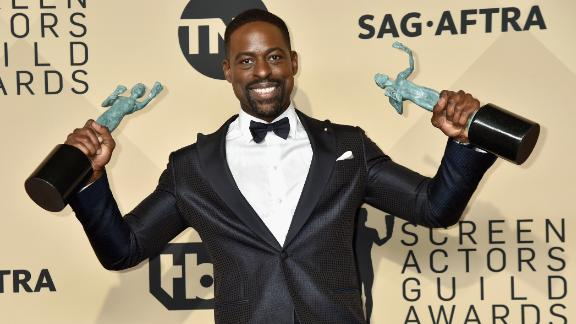 """Sterling K. Brown won two SAG Awards for his work in """"This Is Us."""""""
