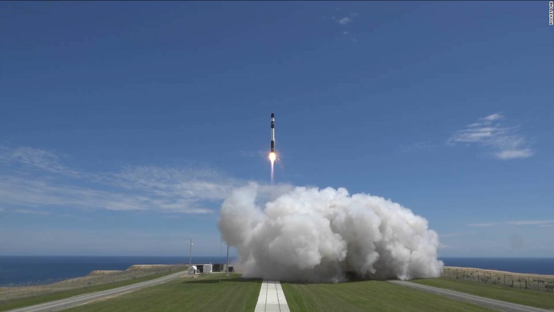 Rocket Lab joins the SPAC craze