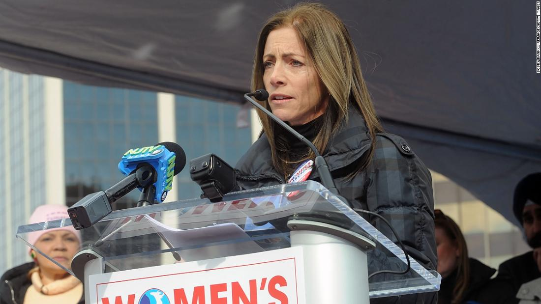 At the Women's March, New Jersey's First Lady shares her story of a sexual assault