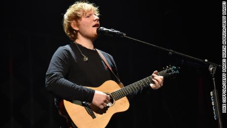 Ed Sheeran was the second most-streamed artist of the decade.