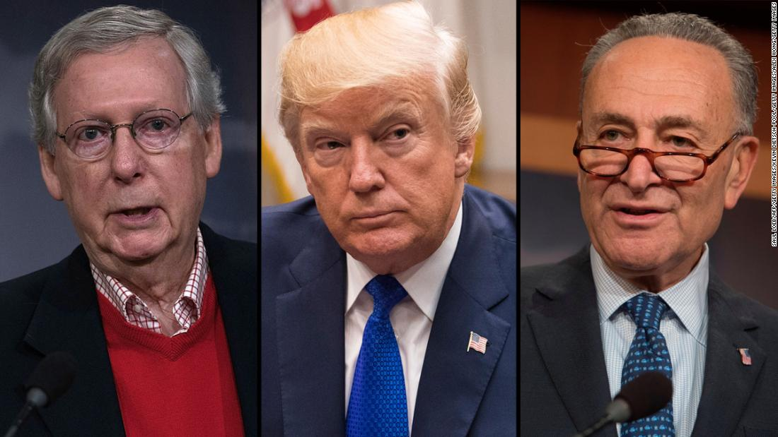 McConnell says vote expected Thursday on legislation to fund Trump's border wall and reopen government
