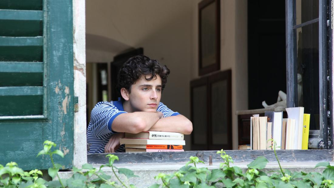 The coming-of-age film received four nominations. Timothée Chalamet, who was nominated for best actor in a leading role, was a critics' favorite for his breakout performance as a 17-year-old discovering new facets of his sexuality.