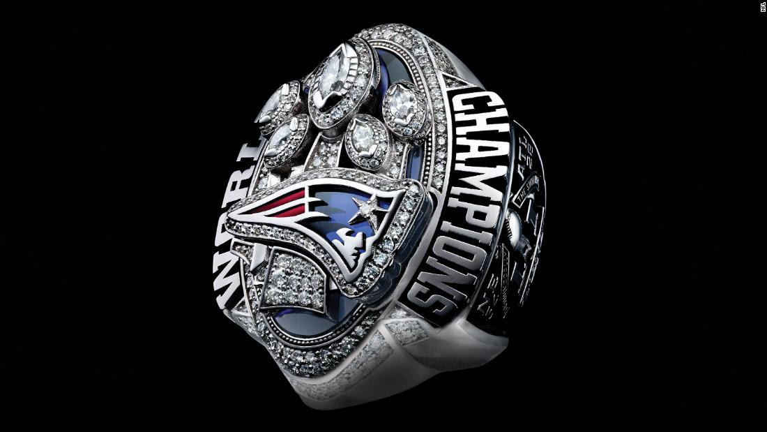 Picture Of Patriots New Ring