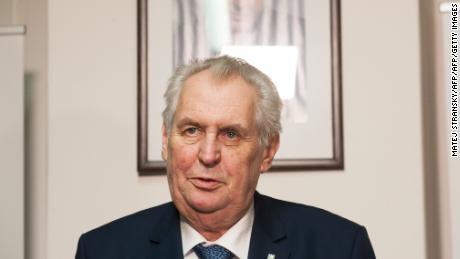 Milos Zeman was long-time leader of the center-left Social Democrats, before founding the populist Party of Civic Rights in 2009.