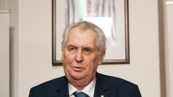 Czech President Milos Zeman, shown on January 12, had previously served as prime minister.