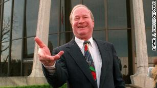 US District Judge Walter Smith outside the federal courthouse in 1994 in San Antonio.