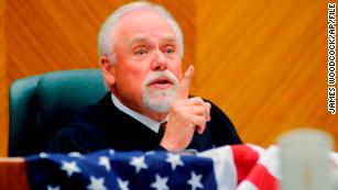 Chief Judge Richard Cebull makes a speech at the federal courthouse in Billings, Montana, on June 23, 2011.