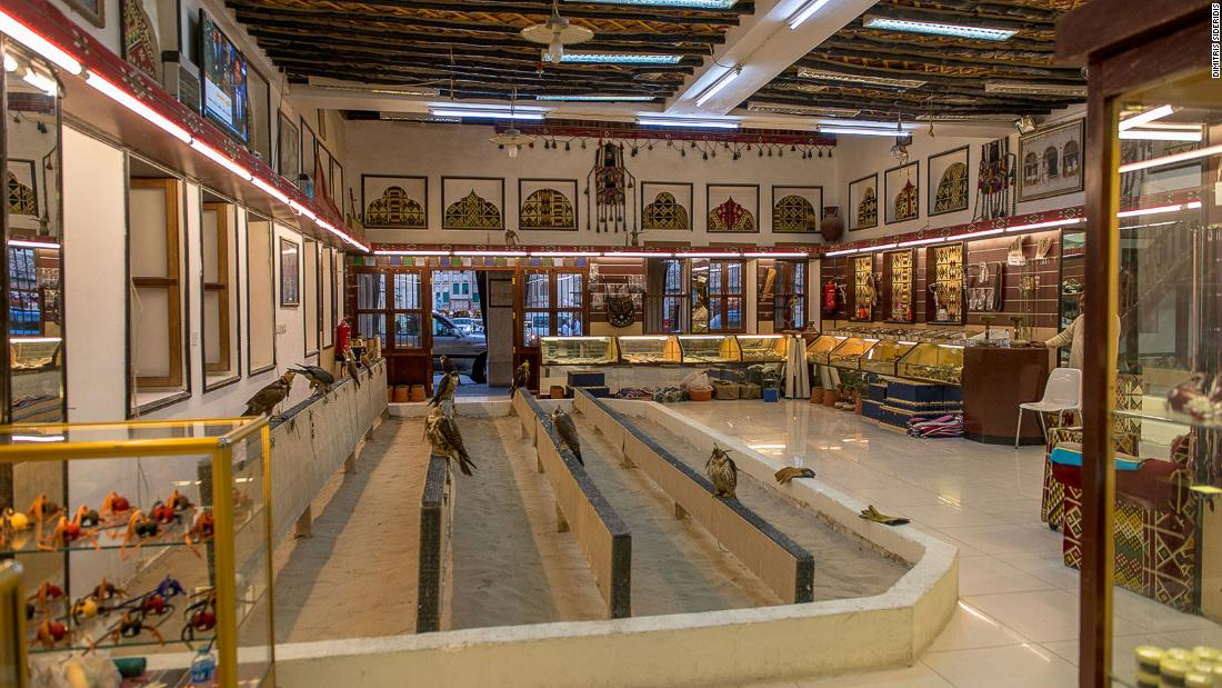 Inside Doha's labyrinth bazaar