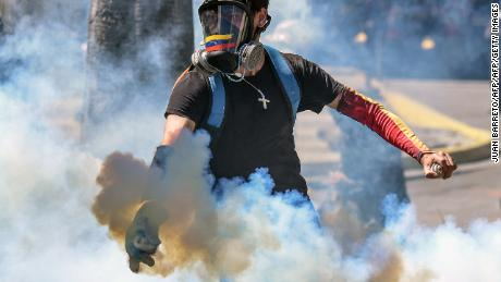 The International Criminal Court says it is looking into allegations of excessive force and other abuses by Venezuela's government in response to anti-regime protests.