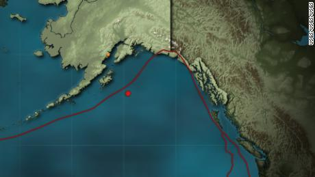 A magnitude-7.9 earthquake detected in the Gulf of Alaska has triggered tsunami warnings in Alaska and tsunami watches across several Western states.