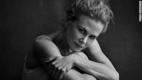 Nicole Kidman shot by Peter Lindbergh, Los Angeles (2016).
