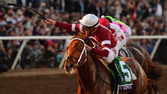 Gun Runner, winner of the Breeders' Cup Classic in November 2017, won the second running of the Pegasus World Cup last year.