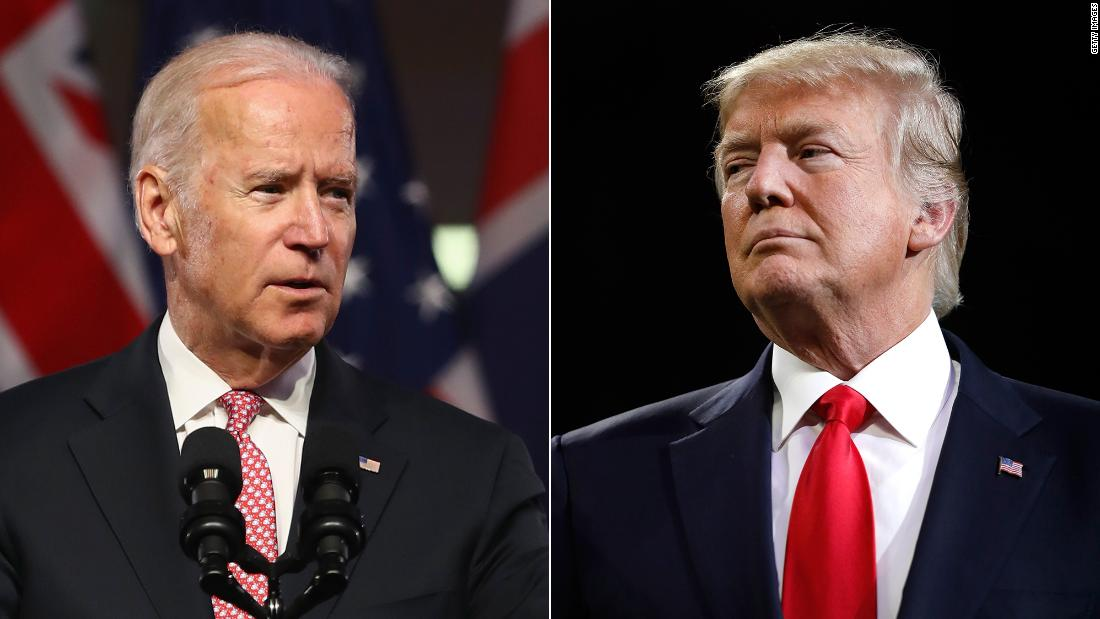 Biden says he would 'beat the hell' out of Trump if in high school