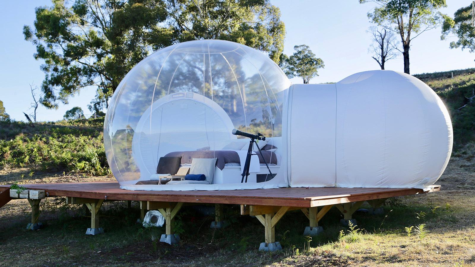 Bubbletent Australia, the ultimate skygazing experience | CNN Travel