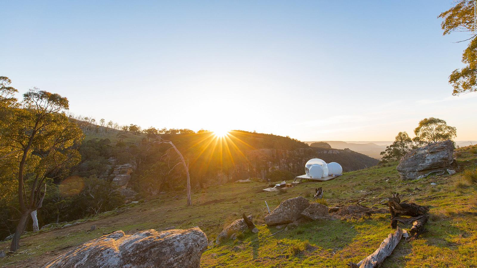 Wonderful Bubbletent Australia, The Ultimate Skygazing Experience | CNN Travel