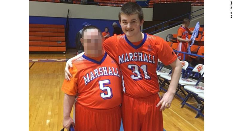 Daniel Austin Right Was Wounded In Tuesdays Shooting At Marshall