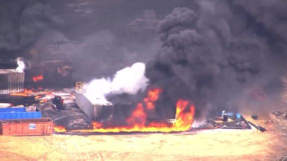 The cause of Monday's explosion is unclear at this time, authorities said.