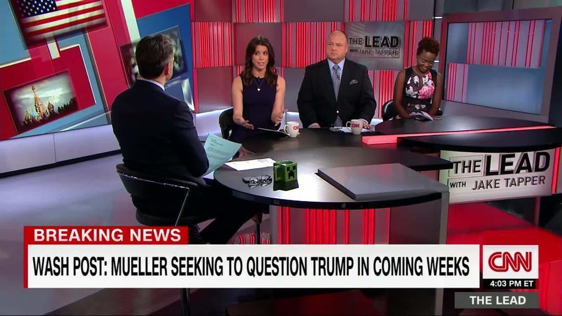 WaPo: Mueller seeking to question Trump in coming weeks ...