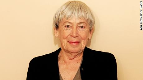 Ursula K. Le Guin at home in Portland, Oregon on December 15, 2005.