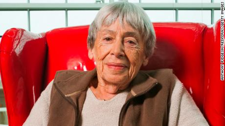 Portrait of author Ursula Le Guin at Wordstock Literary Festival in Portland, Oregon, USA on 9th October 2011. (Photo by Anthony Pidgeon/Redferns)