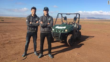 Formula E: Racing dune buggies in the Sahara