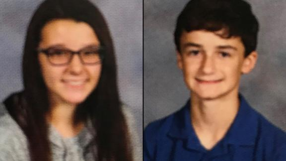 Bailey Holt and Preston Cope, both 15, were killed in the shooting.