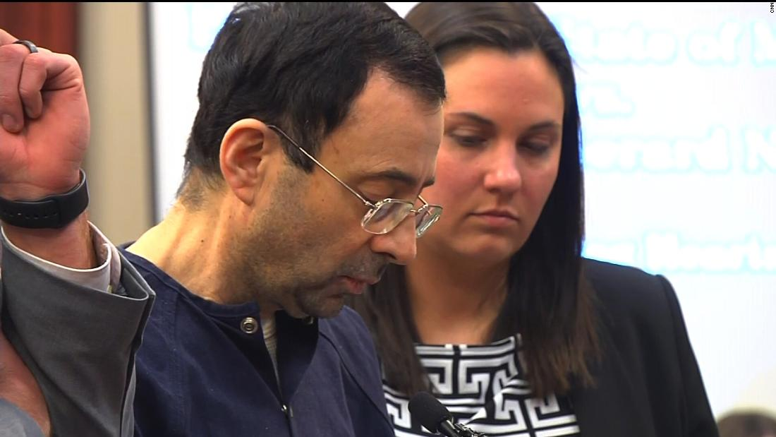 Larry Nassar sentenced to up to 175 years in prison for decades of sexual abuse – Trending Stuff