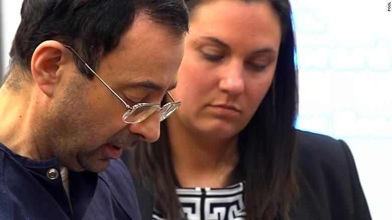 Nassar: Victims' words have shaken me
