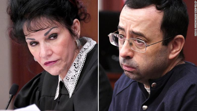 Judge to Nassar: I signed your death warrant