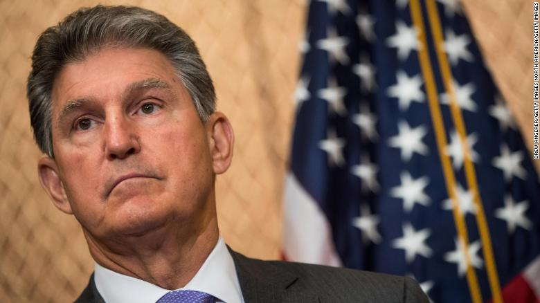 Democratic Sen. Joe Manchin met with Trump's Supreme Court pick