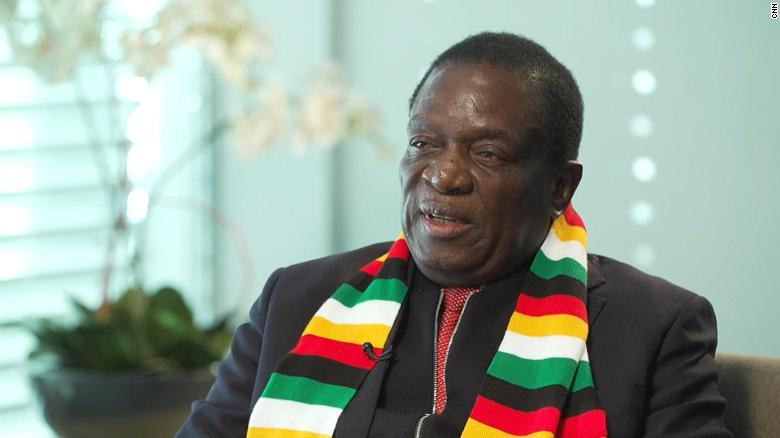Image result for mnangagwa on cnn