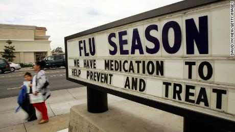 Influenza season deaths over 80,000 last the year says CDC